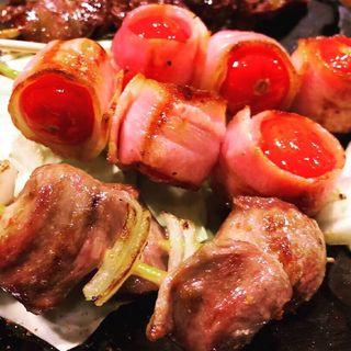 トマト串(博多やきとり壱鳥)
