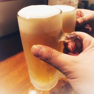 生ビール(博多やきとり壱鳥)