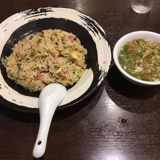 チャーシュー入りチャーハン(一すじ 中洲店)