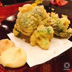 ブロッコリー天ぷら