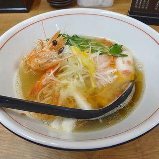 海老&鯛塩ラーメン(麺や 鯛清 (MENYA TAISEI))