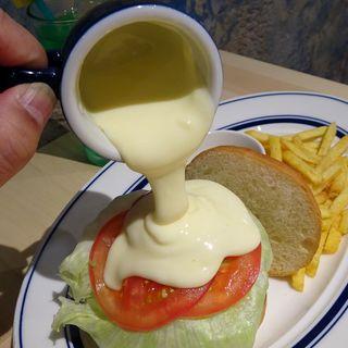 かけ~るチーズバーガー(Nation diner)