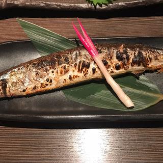 秋刀魚の塩焼き(大福 )