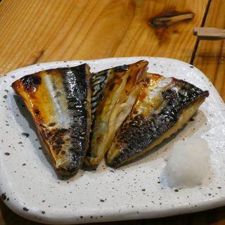 鯖の味醂干し(カニとサカナの場Casava)