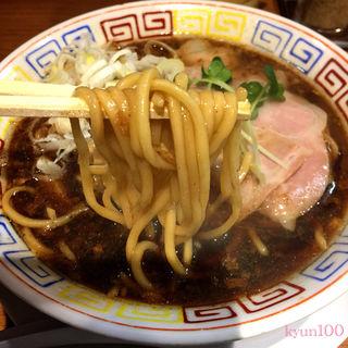 サバ醤油そば(サバ6製麺所 鶴橋店)