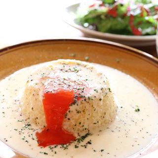 ライスカルボナーラ(食堂PLUG)