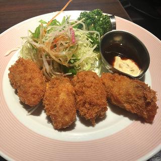 カキフライ定食(銀座ライオン 八重洲地下街店 )