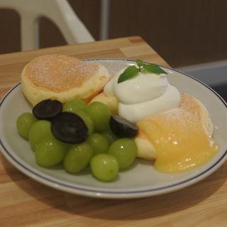 奇跡のパンケーキ シャインマスカット(FLIPPER'S 京都店)