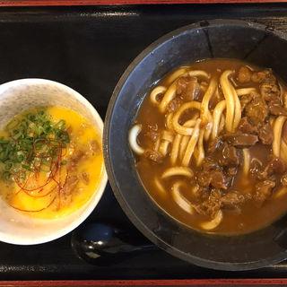 和風カレー肉つけ玉(情熱うどん讃州 新大阪店 )