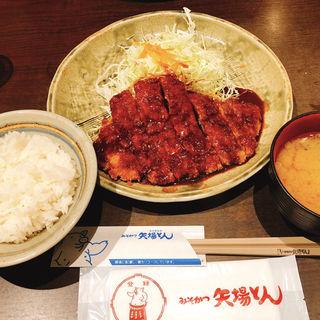 味噌かつ定食(矢場とん)