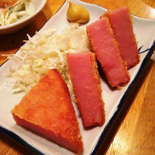 ハムカツ(大鶴見食堂)