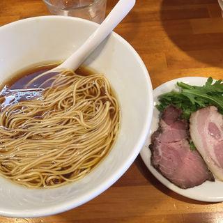 醤油らーめん(かけstyleハルユタカ)(極汁美麺 umami)