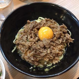 牛トロ玉まぜそば(鶏谷 (トリタニ))