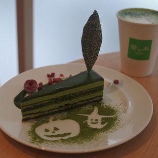 抹茶オペラケーキ「九重~ここのえ~」(茶の木 by FUKUJUEN)