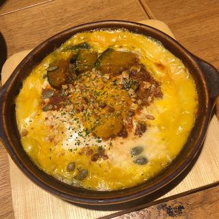 栗カボチャとチーズのドリア