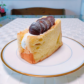 栗のシフォンケーキ(ディマンシュ)
