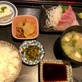 カンパチ刺定食(まさいち)