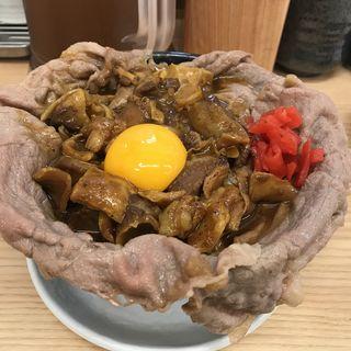 合盛カレーめし(岡むら屋 田町店)