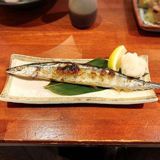 新サンマ塩焼き(居酒屋 いかり屋 )