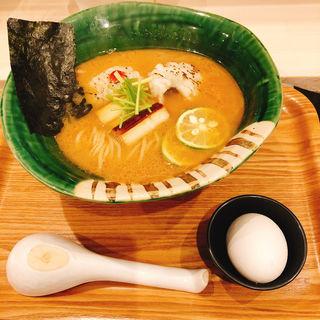 魚骨パイタン麺(麺や ゆた花)