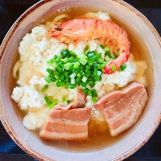 ゆし豆腐そば(たいちそば)