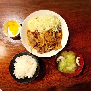 しょうが焼き定食(メシ酒場 鈴木ちゃん)