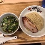 ホロホロ南蛮雉つけ麺(中華蕎麦 時雨)