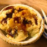 ポテトサラダ(カレー味)(もつ焼き カミヤ )