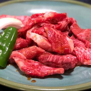 和牛カルビ定食(はやしや食堂 )