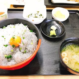 2色丼定食(かあちゃんの店)