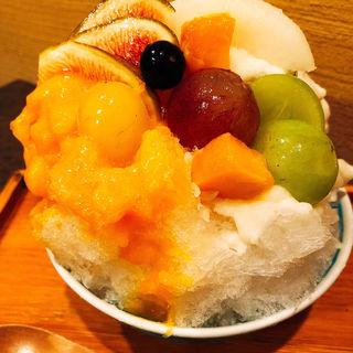 フルーツいっぱいかき氷(こちかぜ)