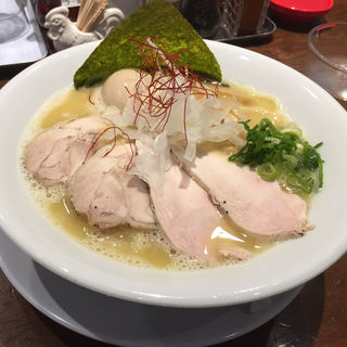 特製濃厚塩(RAMEN 風見鶏 本店 (ラーメンカザミドリ))