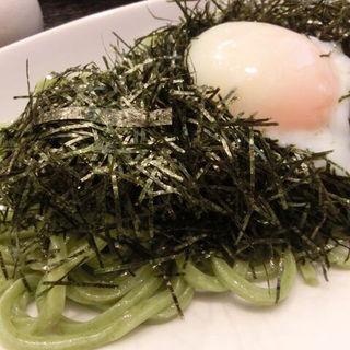 のりぶっかけ(温泉たまごあり)(うどん sugita (すぎた))