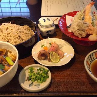 鴨せいろ 天ぷら付き(やま竹 (竹蔵蕎麦 やま竹(たけぞうそば やまたけ)))
