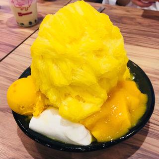 マンゴーミルクかき氷(ICE MONSTER OMOTESANDO (アイスモンスター))