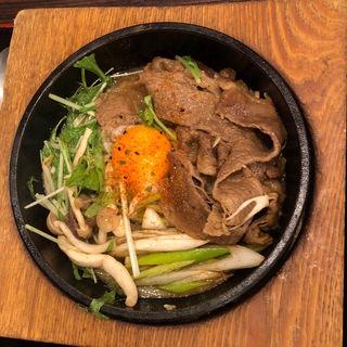 すき焼き風炒飯(石焼炒飯店 あべのHoop店 )
