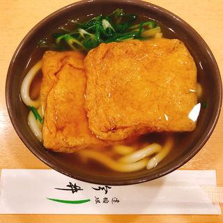 きつねうどん(道頓堀 今井 本店 (どうとんぼり いまい))