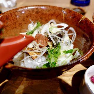 さばの出汁茶漬け定食(ハーフ&ハーフ)(SABAR+ なんばCITY店)