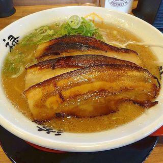 ラーメン(赤)(らーめん 斗道禄 (とどろく)大蔵谷店)
