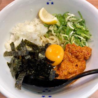 辛味まぜ麺(みつ星製麺所 三宮店)