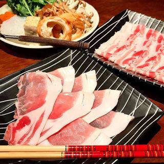 黒豚すき焼きセット(吉祥寺あじと 三軒茶屋店 )
