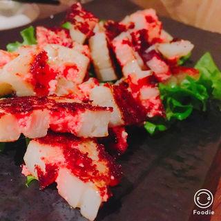 レンコン明太焼(はまらいん 恵比寿本店 )