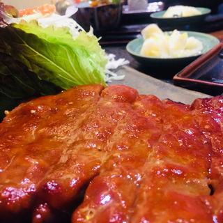黒豚味噌焼き定食(八幡 (はちまん))