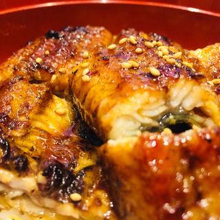 お昼の鰻丼(うなぎ処さいしょ)