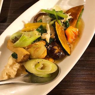 旬野菜の塩炒(大豊記 本館 )