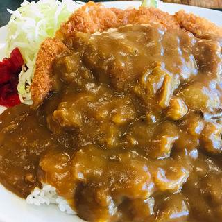 ロースカツカレー(高島屋食堂)