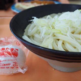 生醤油うどん(半熟卵付)(並)(めん処 杢屋 浜松入野店)