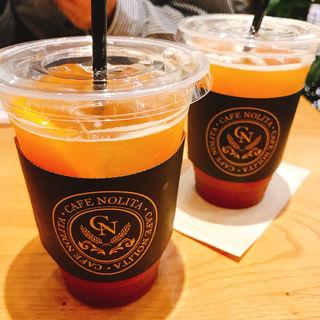 ORANGE ASSAM TEA SODA(COFFEE & NY DELI CAFE NOLITA アトレ川崎店)