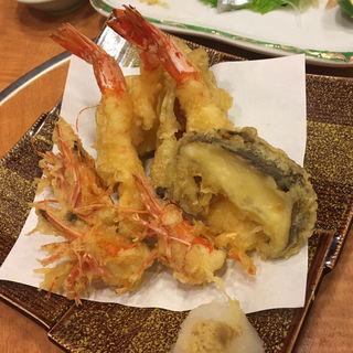 赤足海老の天ぷら(すし寛 )