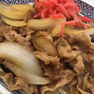 牛丼アタマ(吉野家 札幌狸小路店)